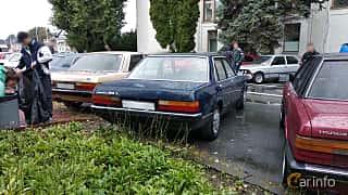 Back/Side of Ford Granada 4-door Sedan 2.0 V6 Manual, 90ps, 1977 at Old Car Land no.2 2018