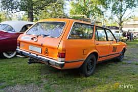 Back/Side of Ford Granada Turnier 2.0 Manual, 100ps, 1981 at Onsdagsträffar på Gammlia Umeå 2019 vecka 28