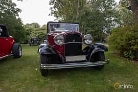 Front  of Ford Model 18 Cabriolet 3.6 V8 Manual, 66ps, 1932 at Billesholms Veteranbilsträff 2019 augusti