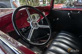 Interior of Ford Model 18 Cabriolet 3.6 V8 Manual, 66ps, 1932 at Billesholms Veteranbilsträff 2019 augusti