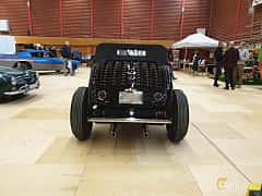 Back of Ford Model 18 Roadster 3.6 V8 Manual, 66ps, 1932 at Gasonline Mega Swapmeet Katrineholm  2019 Mars