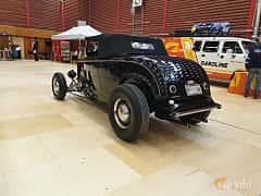 Back/Side of Ford Model 18 Roadster 3.6 V8 Manual, 66ps, 1932 at Gasonline Mega Swapmeet Katrineholm  2019 Mars