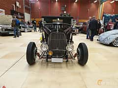 Front  of Ford Model 18 Roadster 3.6 V8 Manual, 66ps, 1932 at Gasonline Mega Swapmeet Katrineholm  2019 Mars