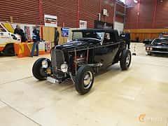 Front/Side  of Ford Model 18 Roadster 3.6 V8 Manual, 66ps, 1932 at Gasonline Mega Swapmeet Katrineholm  2019 Mars