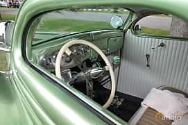 Interior of Ford Model 48 5-window Coupé 3.6 V8 Manual, 86ps, 1935 at Hässleholm Power Start of Summer Meet 2016