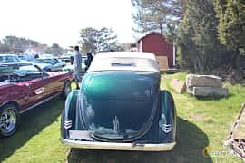 Bak av Ford Model 68 Cabriolet 3.6 V8 Manual, 86ps, 1936 på Crusaders Classic Car Meet 2015