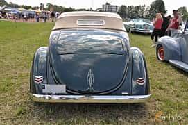 Bak av Ford Model 68 Cabriolet 3.6 V8 Manual, 86ps, 1936 på Power America Fest, Nossebro 2016