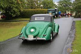 Back/Side of Ford Model 68 Cabriolet 3.6 V8 Manual, 86ps, 1936 at Bil & MC-träffar i Huskvarna Folkets Park 2019 Amerikanska fordon