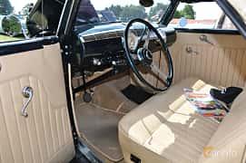Interiör av Ford Model 68 Cabriolet 3.6 V8 Manual, 86ps, 1936 på Power America Fest, Nossebro 2016
