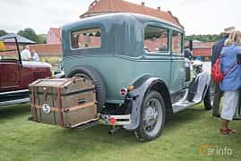 Bak/Sida av Ford Model A 2-door Phaeton 3.3 Manual, 40ps, 1931 på Thulinträffen 2017
