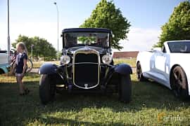 Fram av Ford Model A Coupé 3.3 Manual, 41ps, 1930 på Tisdagsträffarna Vikingatider v.21 / 2018