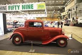 Sida av Ford Model B Coupé 3.3 Manual, 51ps, 1932 på Bilsport Performance & Custom Motor Show 2019