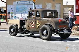 Bak/Sida av Ford Model B Sport Coupé 3.3 Manual, 51ps, 1932 på Cruising Lysekil 2019
