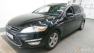 Front/Side  of Ford Mondeo Turnier 1.6 TDCi Manual, 115ps, 2014