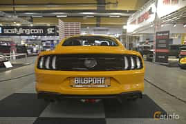 Back of Ford Mustang GT 5.0 V8 Automatic, 457ps, 2019 at Bilsport Performance & Custom Motor Show 2019