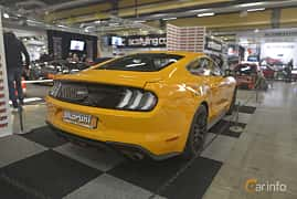 Back/Side of Ford Mustang GT 5.0 V8 Automatic, 457ps, 2019 at Bilsport Performance & Custom Motor Show 2019