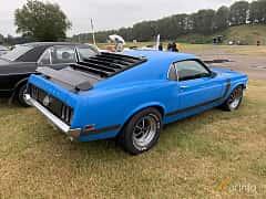 Back/Side of Ford Mustang 5.8 V8 Manual, 294ps, 1970 at Svenskt sportvagnsmeeting 2019