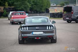 Back of Ford Mustang GT 5.0 V8 SelectShift, 421ps, 2015 at Wheels & Wings 2018