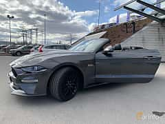 Front/Side  of Ford Mustang GT Convertible 5.0 V8 Automatic, 457ps, 2019