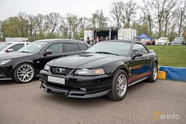 Front/Side  of Ford Mustang Convertible 3.8 V6 Automatic, 193ps, 2000 at Lucys motorfest 2019