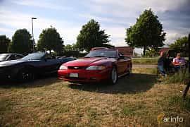 Fram/Sida av Ford Mustang GT Convertible 4.6 V8 Automatic, 218ps, 1997 på Tisdagsträffarna Vikingatider v.21 / 2018