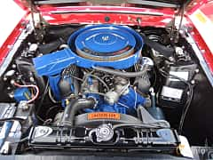 Engine compartment  of Shelby GT 350 5.8 V8 Manual, 294ps, 1970