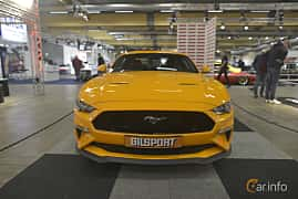 Front  of Ford Mustang GT 5.0 V8 Automatic, 457ps, 2019 at Bilsport Performance & Custom Motor Show 2019
