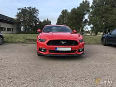 Front/Side of Ford Mustang GT 5.0 V8 SelectShift, 421ps, 2016