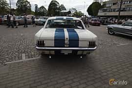 Back of Ford Mustang Hardtop 4.7 V8 Automatic, 203ps, 1966 at Riksettanrallyt 2017