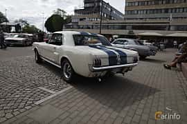 Back/Side of Ford Mustang Hardtop 4.7 V8 Automatic, 203ps, 1966 at Riksettanrallyt 2017