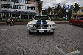 Front  of Ford Mustang Hardtop 4.7 V8 Automatic, 203ps, 1966 at Riksettanrallyt 2017