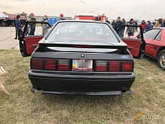 Back of Ford Mustang GT Hatchback 5.0 V8 208ps, 1993 at Old Car Land no.2 2019
