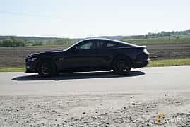 Sida av Ford Mustang GT 5.0 V8 SelectShift, 440ps, 2016 på Tjolöholm Classic Motor 2017