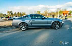 Side  of Ford Mustang GT 4.6 V8 Automatic, 304ps, 2006 at Wheelers Cruising, Vetlanda 2019