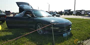 Front/Side  of Ford Probe 2.5 V6 Manual, 163ps, 1993 at Old Car Land no.1 2019