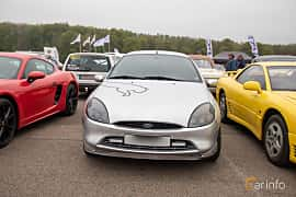 Front  of Ford Puma 1.7 Manual, 125ps, 1999 at Lucys motorfest 2019