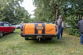 Back of Ford Ranchero 4.9 V8 Automatic, 142ps, 1972 at Billesholms Veteranbilsträff 2019 augusti