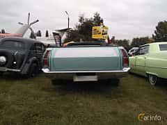 Back of Ford Ranchero 5.8 V8 Automatic, 151ps, 1977 at Old Car Land no.2 2017