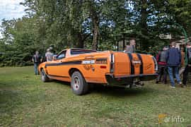 Back/Side of Ford Ranchero 4.9 V8 Automatic, 142ps, 1972 at Billesholms Veteranbilsträff 2019 augusti