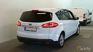 Bak/Sida av Ford S-Max 2.0 TDCi Powershift, 163ps, 2013