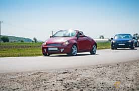 Front/Side of Ford StreetKa 1.6 Duratec Manual, 95ps, 2004 at Tjolöholm Classic Motor 2018