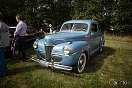 Front/Side  of Ford Super Deluxe Coupé 3.6 V8 Manual, 91ps, 1941 at Lergökarallyt 2015