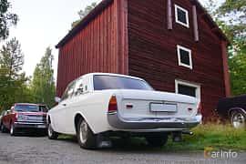 Back/Side of Ford Taunus 2-door Limousine 1.7 Manual, 71ps, 1966 at Onsdagsträffar på Gammlia Umeå 2019 vecka 35