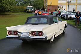 Back/Side of Ford Thunderbird Convertible 5.8 V8 Automatic, 305ps, 1959 at Bil & MC-träffar i Huskvarna Folkets Park 2019 Amerikanska fordon
