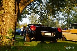Back/Side of Ford Thunderbird Convertible 3.9 V8 Automatic, 256ps, 2002 at Onsdagsträffar på Gammlia Umeå 2019 vecka 35