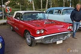 Front/Side  of Ford Thunderbird Convertible 5.8 V8 Automatic, 305ps, 1959 at Kungälvs Kulturhistoriska Fordonsvänner  2019 Torsdag vecka 35