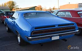 Back/Side of Ford Torino Cobra 7.0 V8 Automatic, 375ps, 1970