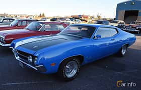 Front/Side  of Ford Torino Cobra 7.0 V8 Automatic, 375ps, 1970