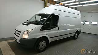 Fram/Sida av Ford Transit 3-door Van 2.4 TDCi Manual, 140ps, 2011