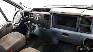Interior of Ford Transit Chassis Cab 2.2 TDCi Manual, 101ps, 2013